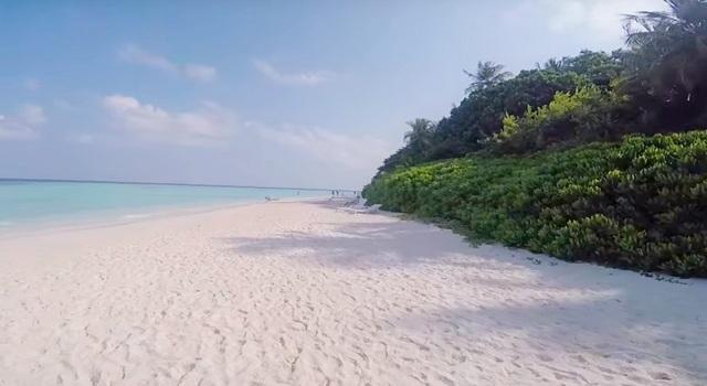 пляж Biyadhoo Island
