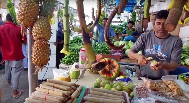 Фруктовый рынок в Мале