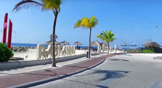 Мале. Новый пляж для местных