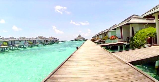 Sun Island водные виллы