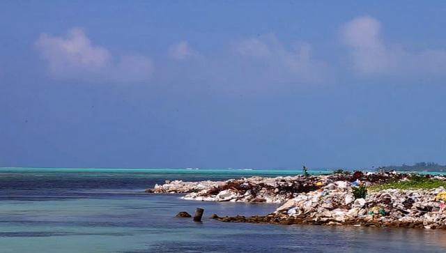 проблемы мусора на острове