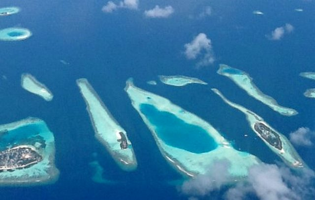 где расположены Мальдивские острова