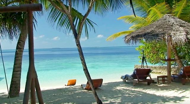 приватный пляж береговой виллы