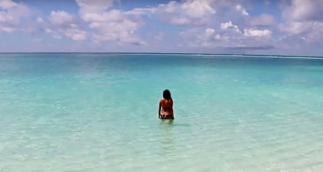 купание на мальдивах