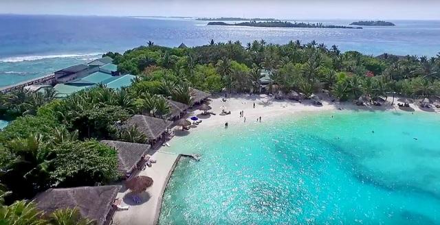 Cinnamon Dhonveli пляж-лагуна