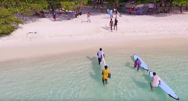 обучение серфингу на Тулусду