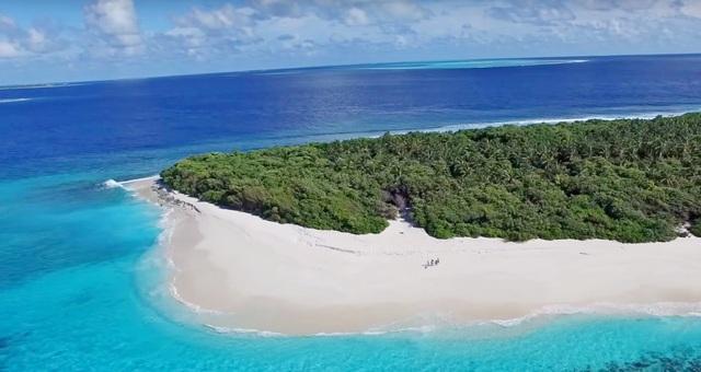 остановки на необитаемых островах