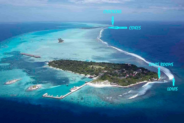 серф пойнты в Adaaran Select Hudhuranfushi