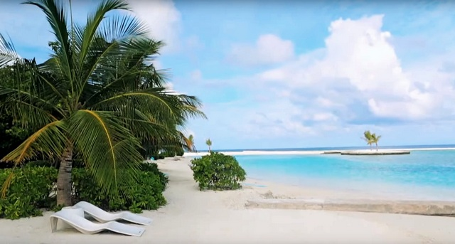 пляж отеля Кандума