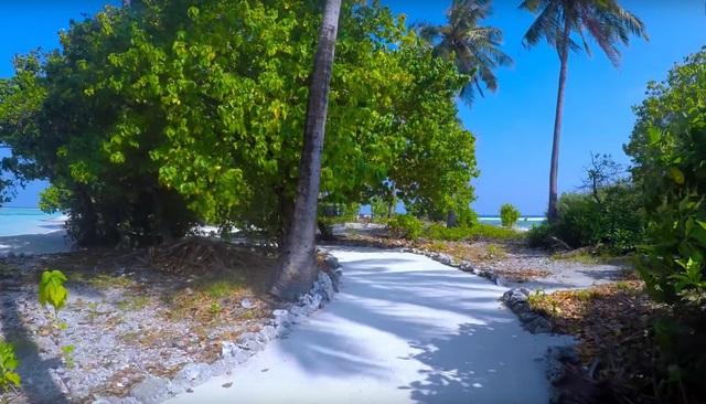 необитаемый остров Lhosfushi