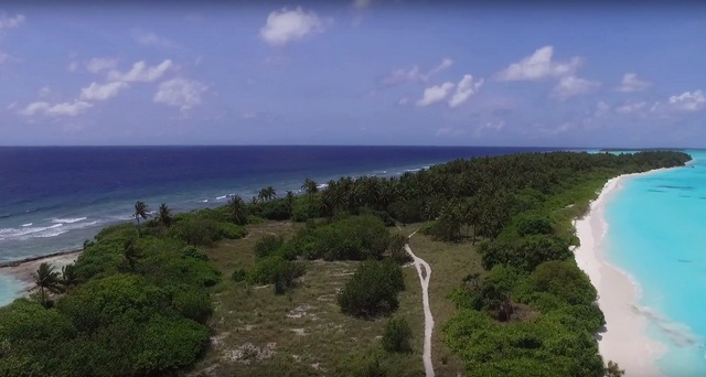 Фуладху самый красивый обитаемый остров