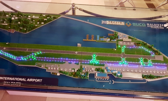 план международного терминала