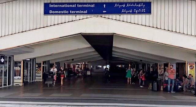 международный и внутренний терминалы аэропорта Мале