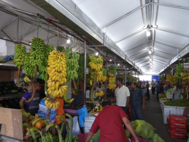 фруктовый рынок в Мале.
