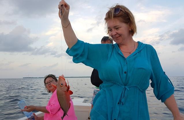 мальдивская рыбалка