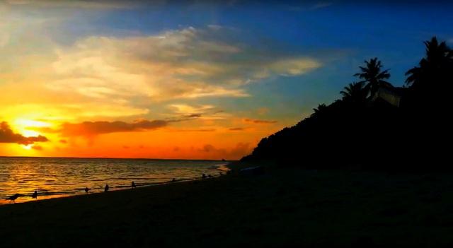 красивые закаты на Омаду