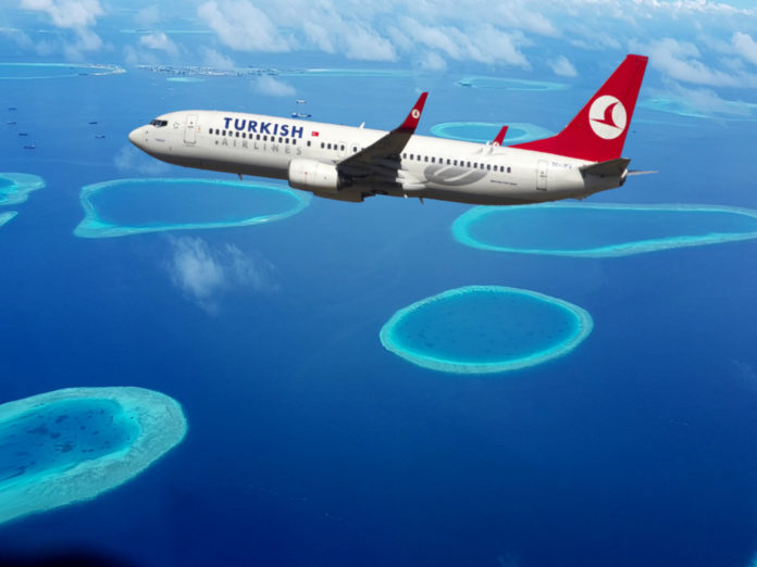 bilety na Maldivy Turkish Airlines