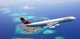 bilety na Maldivy Turkish Airlines