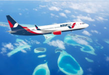 AZUR air charter na maldivy