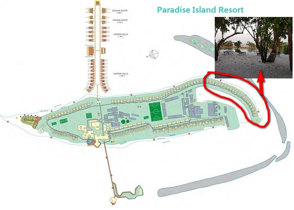 Paradise Island Resort plan