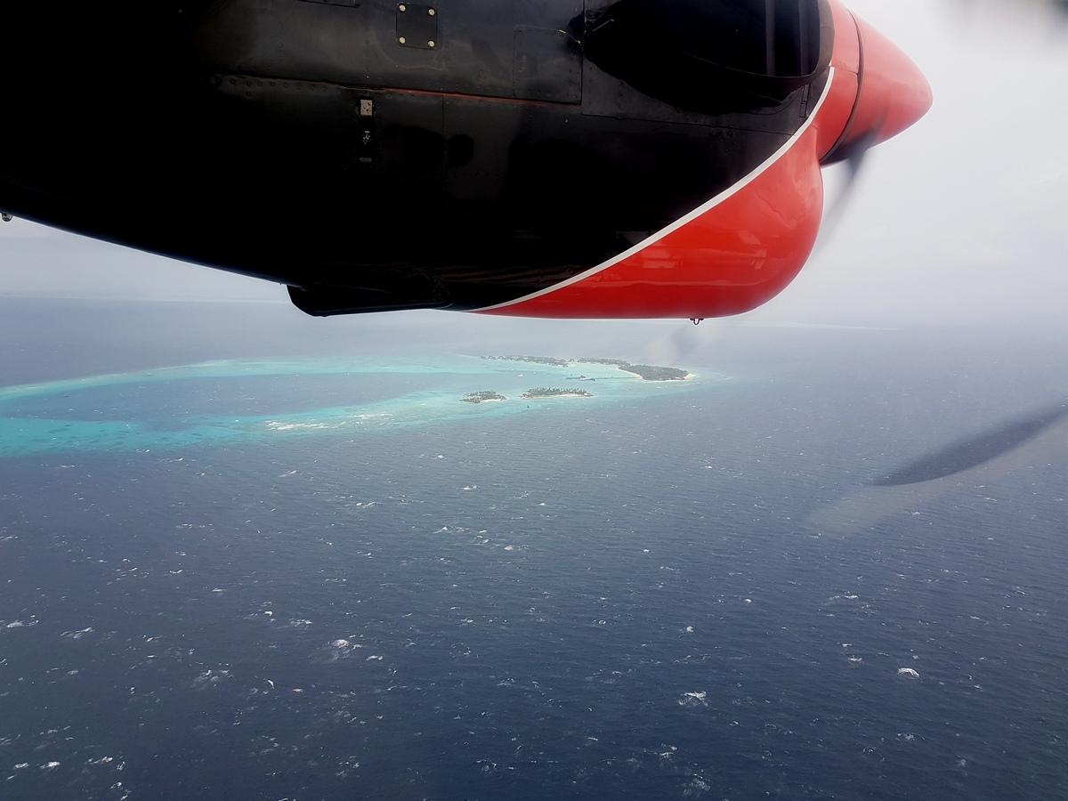 перелет на гидросамолете в шторм