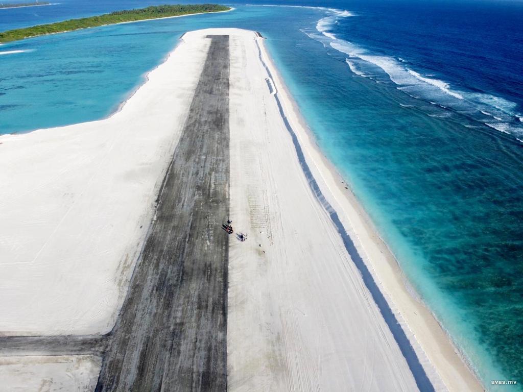взлетно-посадочная полоса аэропорта Хоарафуши